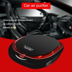 Mgdao samochód oczyszczacz powietrza pojazdu oczyszczacz jonizujący powietrza świeżego nawilżacza ozonizator jonowy negatywny ozon eliminator zapachu usb dla samochodu