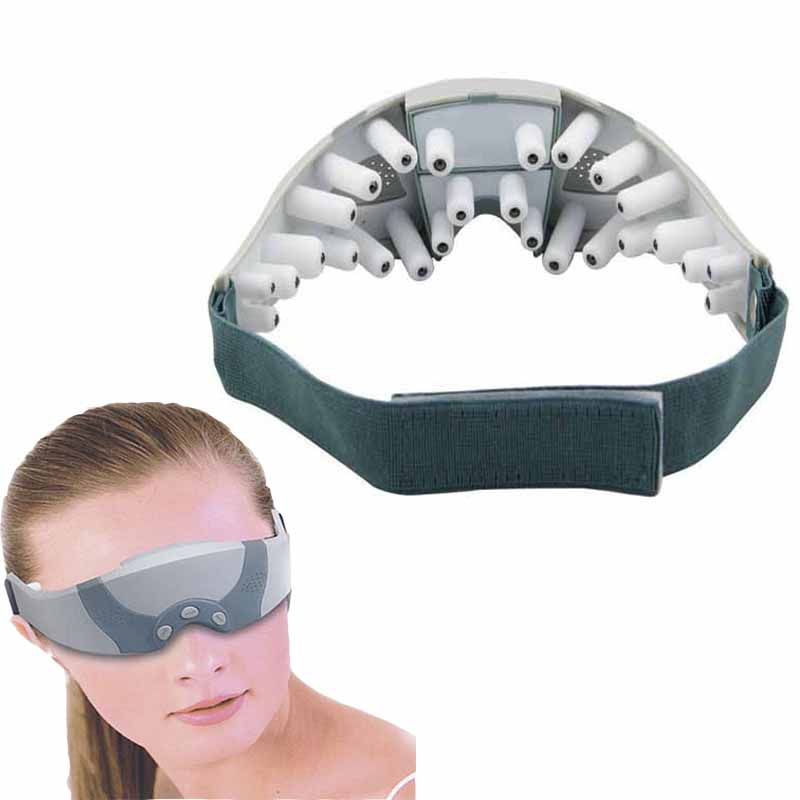eye massager Electric Migraine Forehead Care Eye Mask Massager Alleviate Fatigue Oscillating Vibrating Healthy Massagers