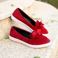 2016 Casual Bowtie Loafers Women Flats Solid Summer Style Shoes Woman shoes 3 Color Size 35-40