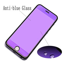 9H High Hardness Anti-blue Tempered Glass Fit For iPhone 6 6s 7 8 HD Screen Protector plus