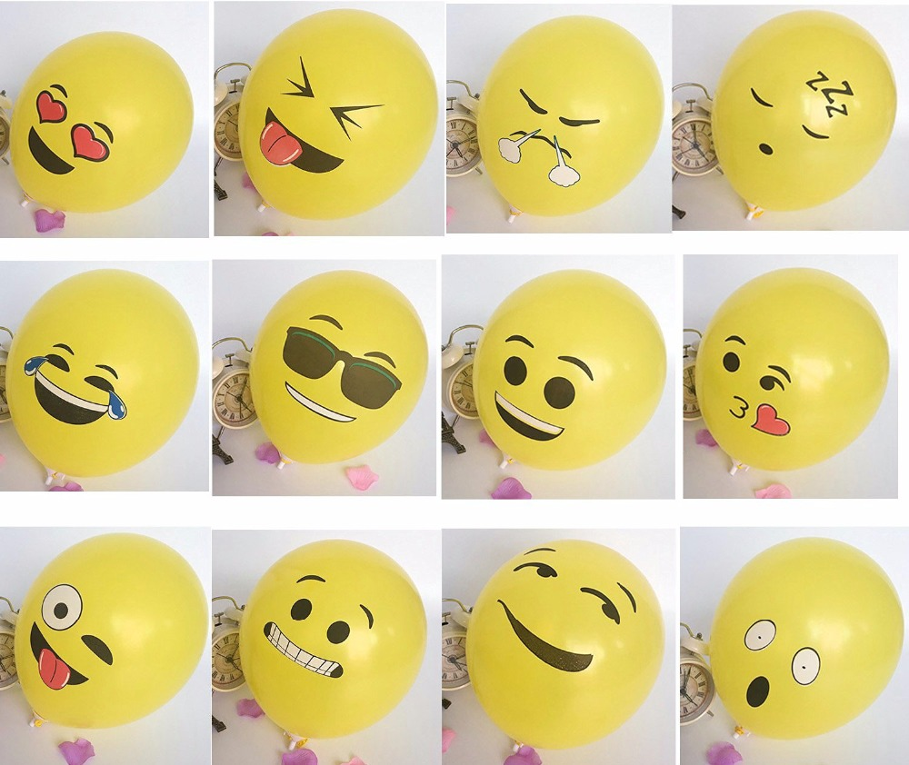 Balloons With Faces
