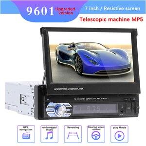 """Image 1 - 9601 7 """"HD Màn Hình Cảm Ứng Đa Năng Bluetooth Xe Hơi MP4 MP5 Người Chơi Điều Hướng Đài FM Ổ Đĩa U/AUX/ thẻ SD Phát Lại Gương Chiếu Hậu"""