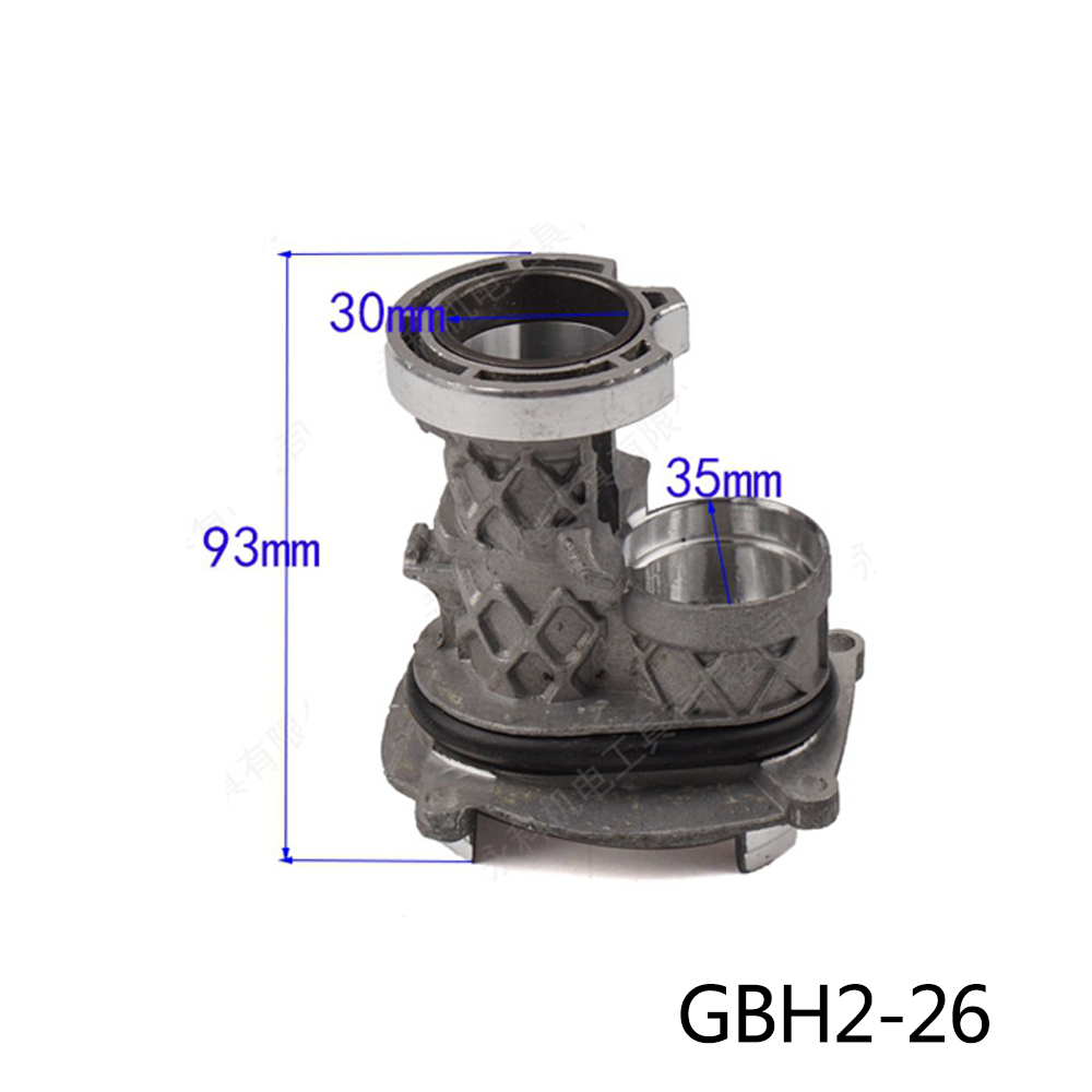 Boutique Electric hammer drill middle Aluminum seat accessories for Bosch GBH2-26/26DRE,High-quality! free shipping tool holding fixture or sds drill chuck for bosch gbh36vf gbh2 26dfr gbh2 26 gbh4 32dfr gbh3 28 high quality