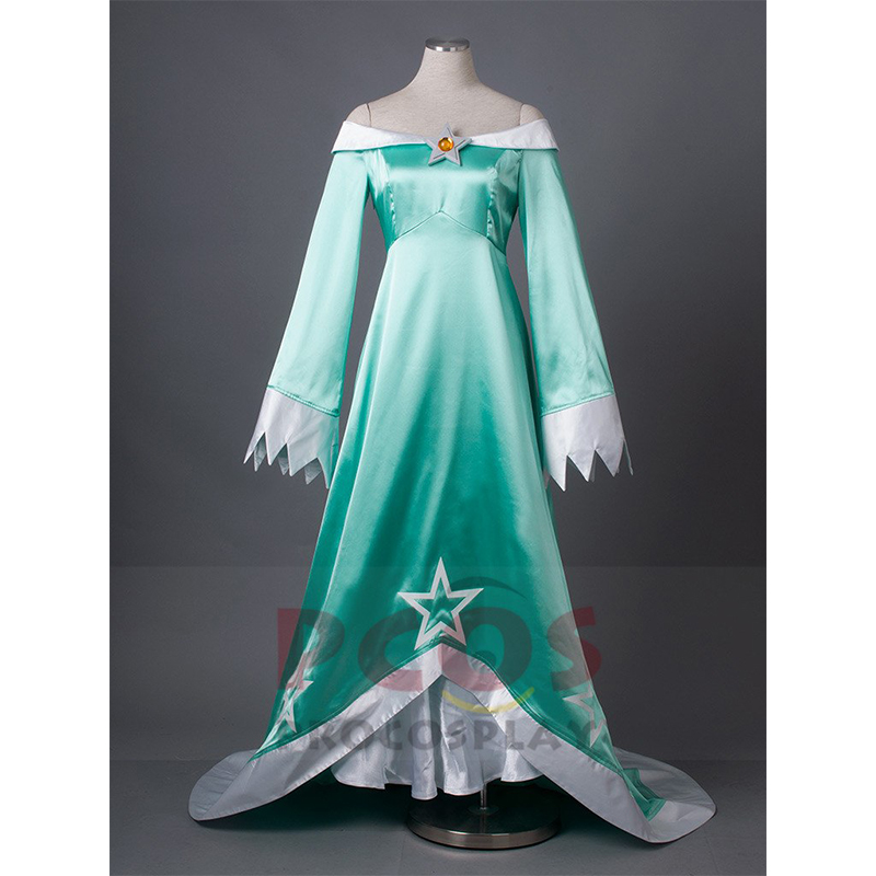 Super Mario Galaxy Wii U Rosalina \u0026 Luma Cosplay Costume mp002981