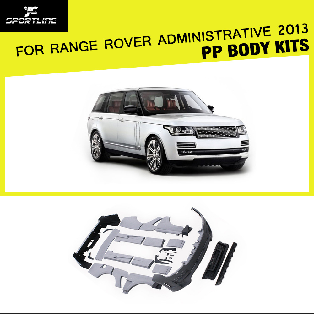 Car Styling PP Car Body kits Bumper for Range Rover Administrative 2013
