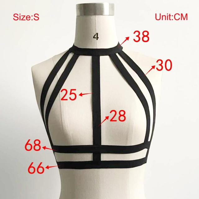 Crop Top Multiple Layers Women Hollow Out Strappy Bra Cage Strappy Top Bustier Top Cropped Fitness Feminino