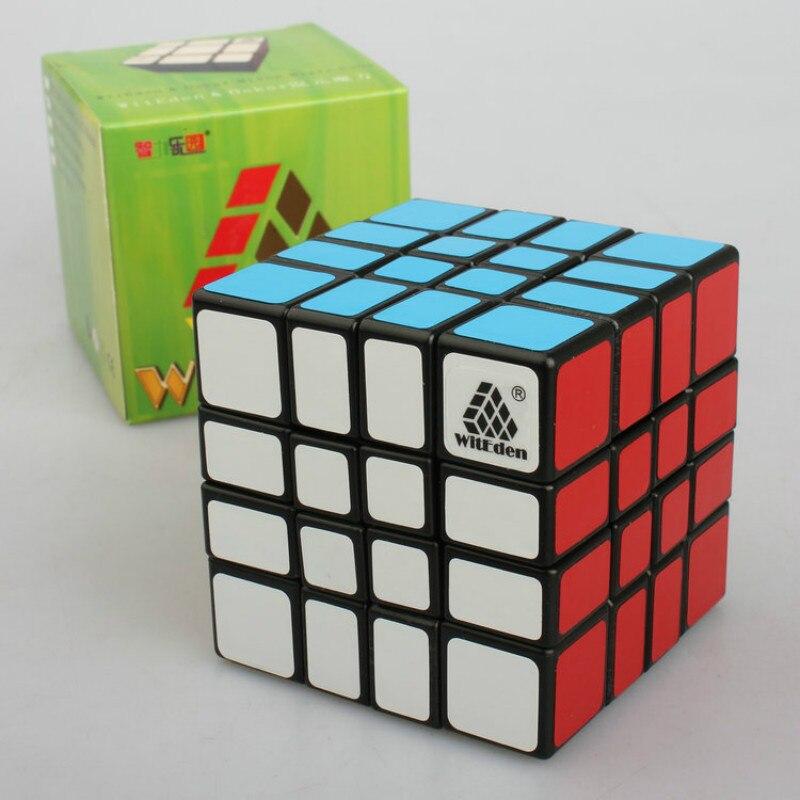 WitEden 4x4x4 Mixup Professional Magic Cube Puzzle Speed Cube Educational Toys witeden 4x4x4 mixup professional magic cube puzzle speed cube educational toys