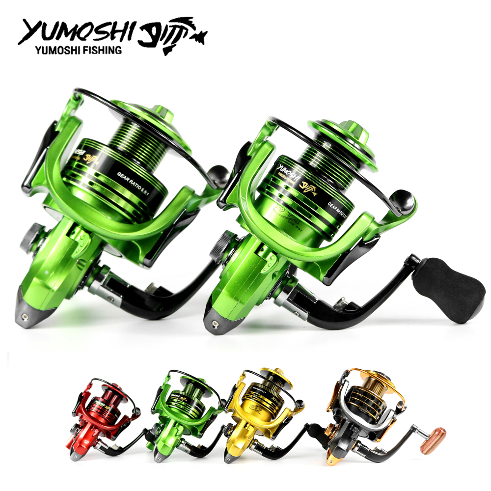 yumoshi 13 1bb 5 5 1 sistema de fiacao carretel de pesca carretel de metal completo