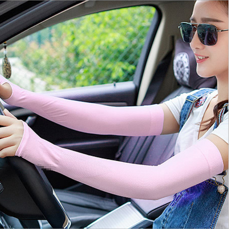 Summer Outdoor Sunscreen Cycling Arm Warmer Driving Arm Sleeve Bicycle Cuff Sleeves UV Protection Basketball Arm Warmers