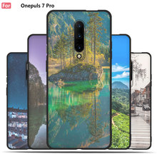 City Night Scene Case For OnePlus 7 Pro,Mobile Phone Shell, TPU Material Painted Color Painting Case.49 Colors!