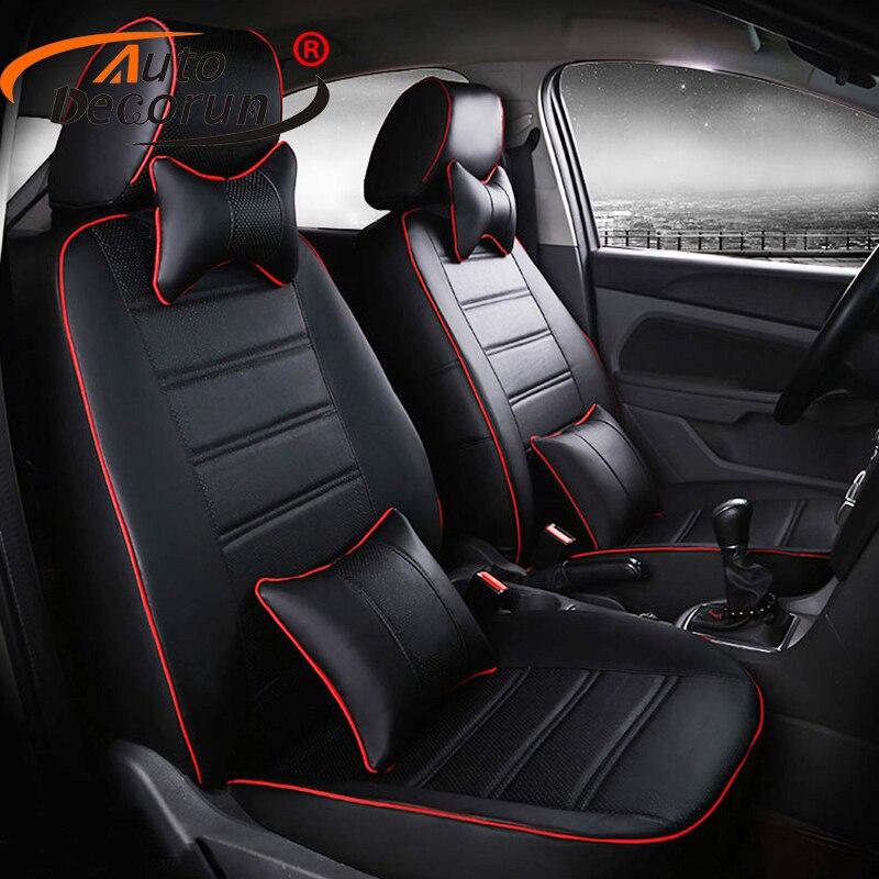 Autodecorun custom fit автомобиля подушки для Benz G Class G55 сиденья наборы аксессуаров Искусственная кожа Чехол подушки сиденья подголовники pad
