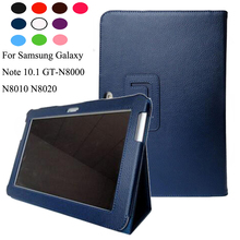 New Smart Premium Stand Pu Leather Case Cover For Samsung Galaxy Note 10 1 N8000 N8010 N8020