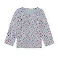 2016 Primavera Outono Crianças Manga Comprida t camisas dos miúdos do bebê Meninas meninos crianças Camisa roupas de algodão tees
