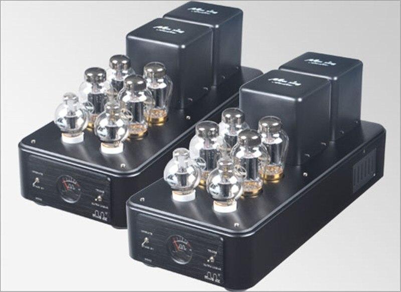 MEIXING MINGDA MC90-AB mono Vacuum tube Amplifier KT90*4 Class AB1 push-pull power Amplifier 95W*2(TR)/150W*2(UL) 110V/220V