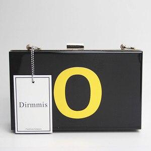 Image 2 - Новый Кошелек, женская сумка мессенджер, 2018 роскошная дизайнерская сумка, брендовая модная женская сумка с милыми буквами, повседневный клатч для выпускного вечера