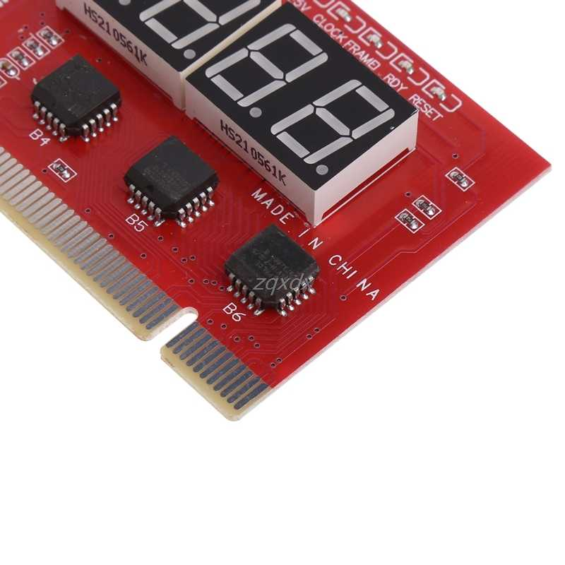 Yeni bilgisayar PCI posta kartı anakart LED 4-Digit tanı testi PC analiz damla gemi