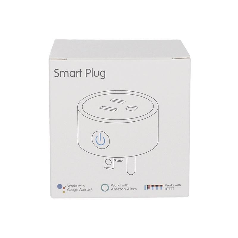 HTB128P4e25G3KVjSZPxq6zI3XXat - FrankEver Mini US Wifi Plug with Surge Protector 110-240V Voice Control Smart Socket Work with Alexa Google Home Tuya APP