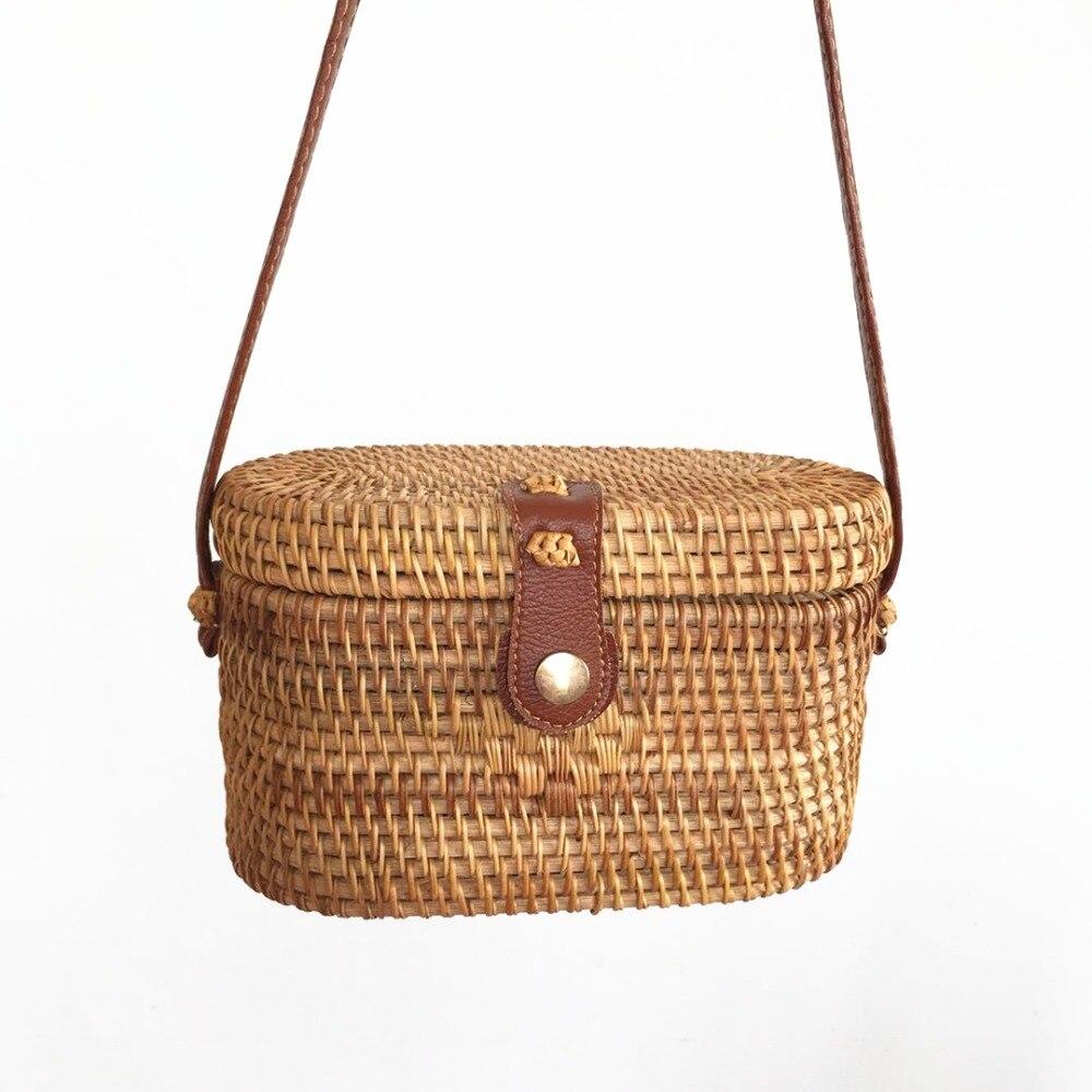 Сумки из ротанга, пляжные сумки на плечо для женщин, 2019, модные, известные бренды, дизайнерские, винтажные, ручная работа, летняя сумка через