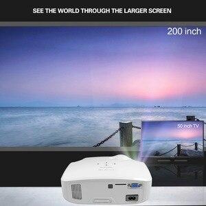 Image 2 - CRENOVA najnowszy projektor LED do Full HD 4K * 2K rzutnik Android 7.1.2 OS kino domowe film Beamer Proyector