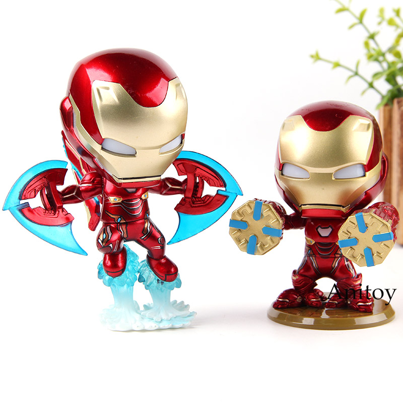 "Iron Man Cosbaby 4/"" Bobble-Head Figure Hot Toys Marvel/'s AVENGERS INFINITY WAR"