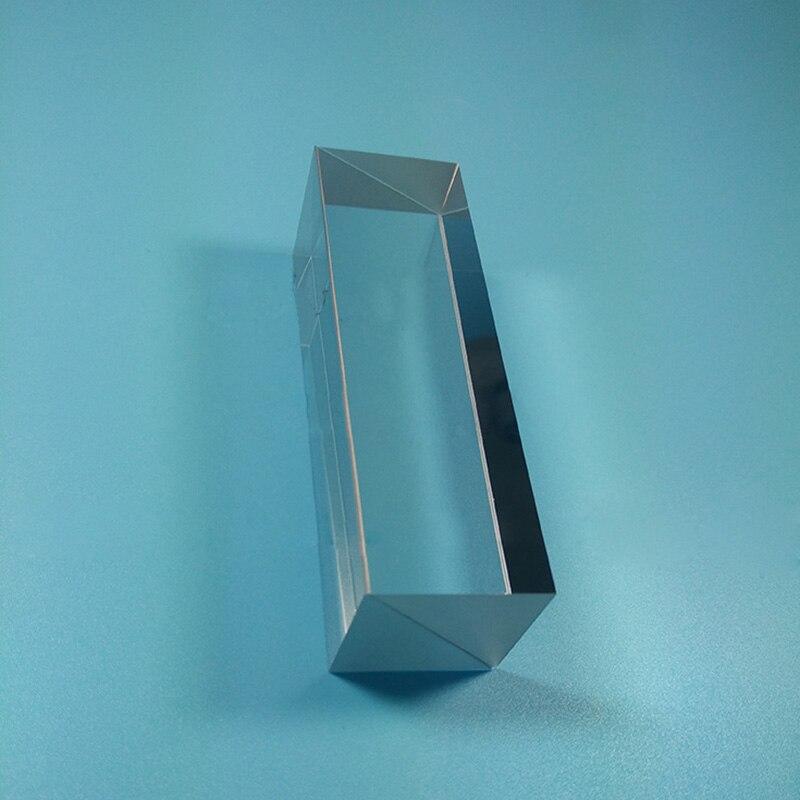 50x50x50mm K9 Optical Glass Four Sides Doublet Prism Optical Experiment Optics Instruments Four Ridge Cemented Cubic Prism mortal instruments 3 city of glass