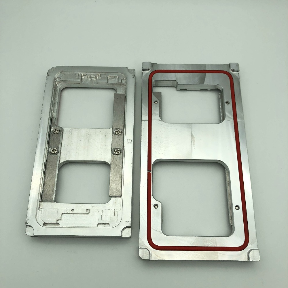 2pcs/lot Clamping mold for iphone 7/7 plus/8/8 plus glass frame cold glue holding close together mobile phone repair refurbished|Phone Repair Tool Sets| |  - title=