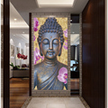 Novo! resumo Impresso Hotoke Cuadros Decoração Buda Budismo Buda Pintura Retrato Da Arte Da Lona Para O Quarto Da Cama Sem framed F1641