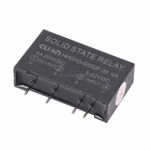 Input 3-32V DC Output 4A 200V DC Relay Board 4 Pin Solid State High Power Relay(China)