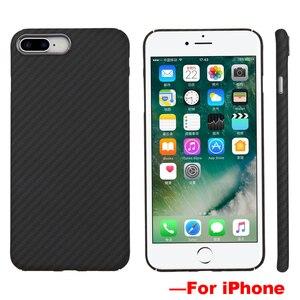 Image 2 - Ультратонкий цветной чехол из арамидного волокна для iPhone X, матовый резиновый чехол из углеродного волокна для iPhone 7 8 7 Plus 8 Plus