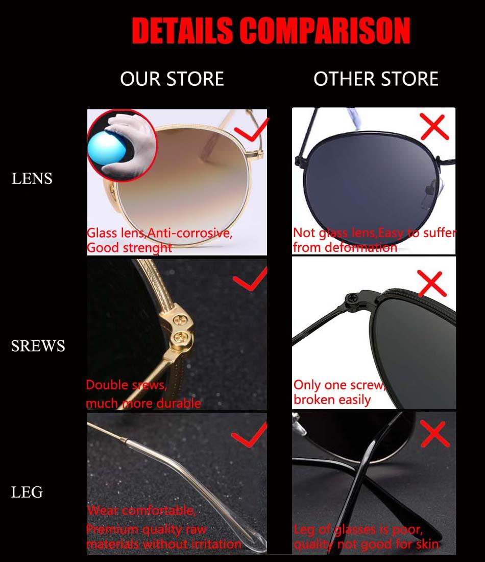 HTB128RPlH I8KJjy1Xaq6zsxpXaf - Luxury Round Sunglasses Women Brand Designer 2018 Retro Sunglass Driving Sun Glasses For Women Men Female Sunglass Mirror 3447