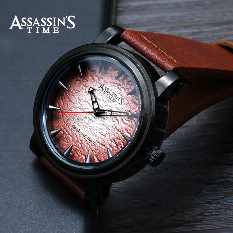 Assassin's Time Fashion Sport Watch Meeste Quartz Watch Luksuslik - Meeste käekellad - Foto 3