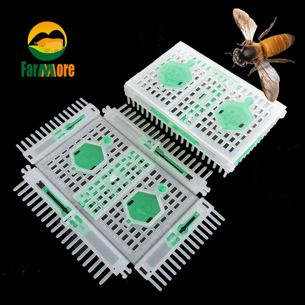 Free shipping Bee Equipment Queen Cage Wholesale Beekeeping Apis Mellifera Ligustica Spinola New Bee Tools