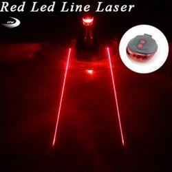 Задний светильник (5LED + 2 Laser) велосипедный предупреждающий велосипедный задний Фонарь велосипедный лазерный габаритный задний фонарь для м...
