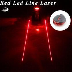 Задний фонарь (5 светодиодов + 2 лазера), велосипедный задний фонарь безопасности, велосипедный лазерный габаритный задний фонарь для мотоци...