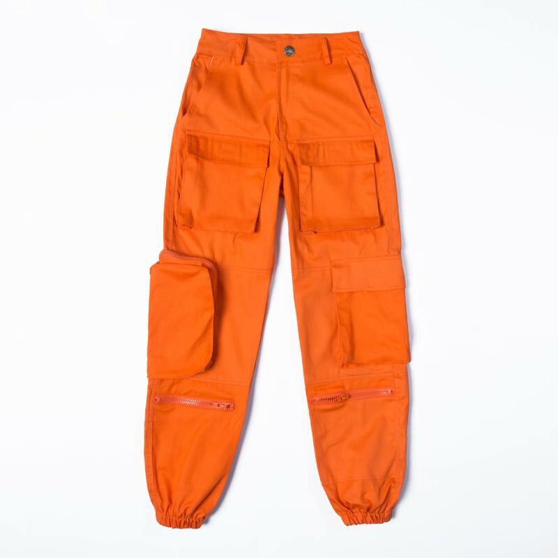High waist   pants   loose joggers women harem camo   pants   streetwear punk black cargo   pants   women   capris   trousers