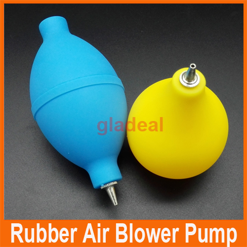 цены  Original Two Rubber Bulb Air Blower Pump Dust Cleaner for Cell Phone Camera Watch Lens Clean
