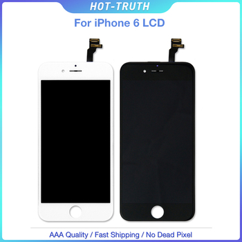 5PCS/Lot 100% Tested Working Well Screen For Apple iPhone 6 LCD Display 3D Touch Screen High Quality AAA+++ DHL Free Shipping