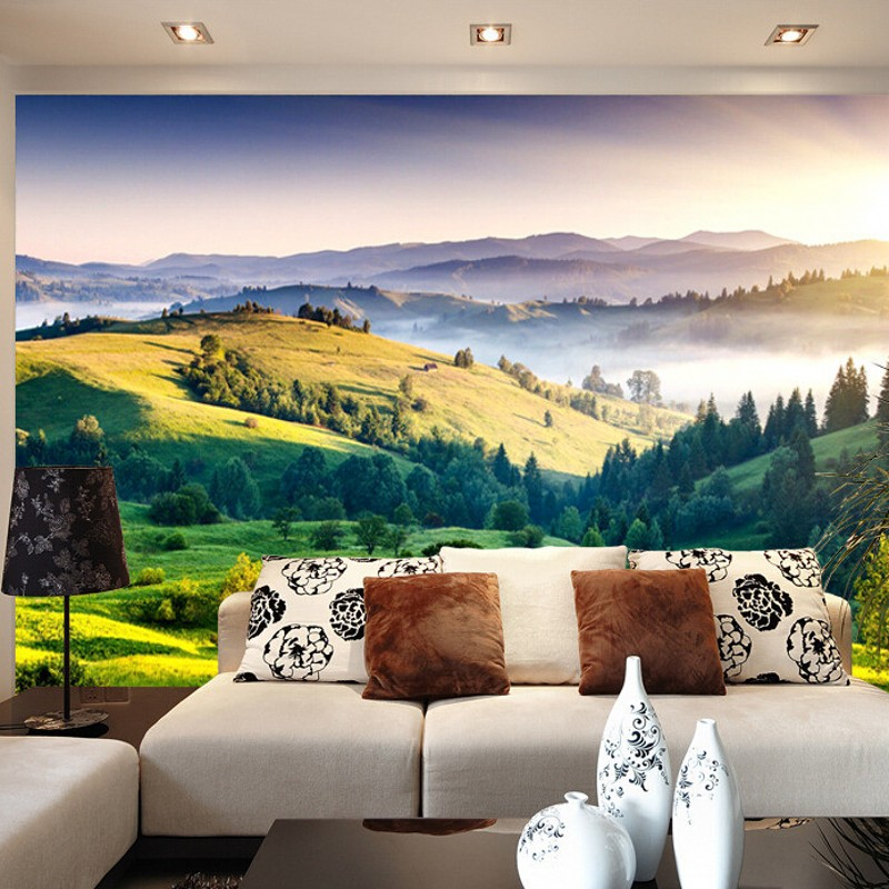 beibehang individuelle fototapeten 3d stereo natur grne wand papers home decor wohnzimmer schlafzimmer tapeten fr die wnde 3 - Natur Wand Im Wohnzimmer