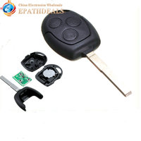 Brand New 3 Buttons Remote Key Fob With 63 Start Chip For Focus Mondeo