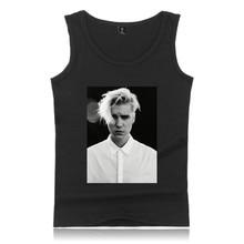 Justin Bieber tank top 2017 NEW Women Fitness Tank Tops Bodybuilding Cool Kpop Shirt XXXXL Clothes Summer Vests For PLUS SIZE