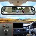 """Car Styling 4.3 """"tft monitor del coche del espejo + cámara de visión trasera del coche que invierte el estacionamiento para mitsubishi airtrek/outlander 2006 ~ 2013"""