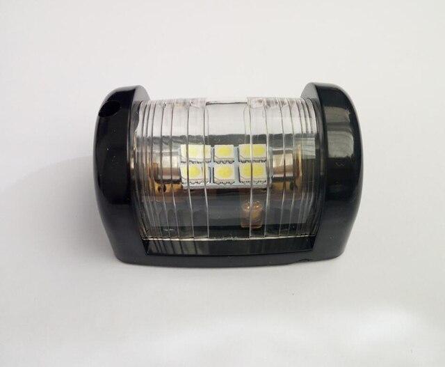 12 V مركبة بحرية يخت LED البسيطة أضواء الملاحة الأبيض ستيرن ضوء الإبحار مصباح إشارة