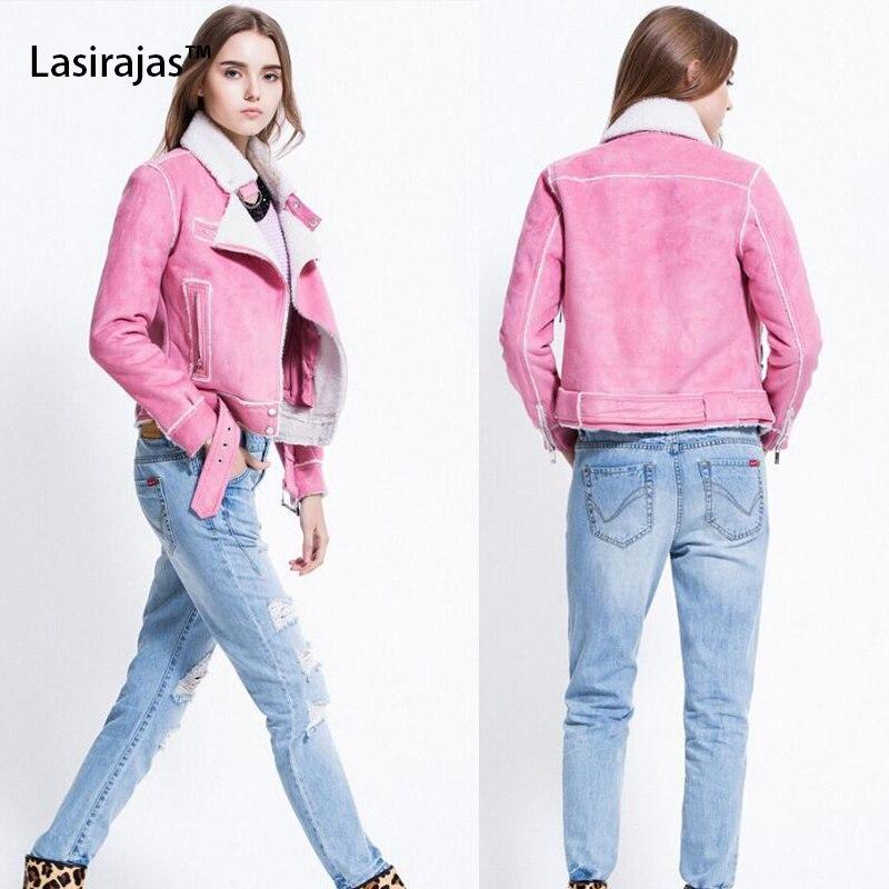 ФОТО Fashion Winter Jacket Women Velvet Lapel Leather Warm Coat Motorcycle  Jacket Outwear Plus Size