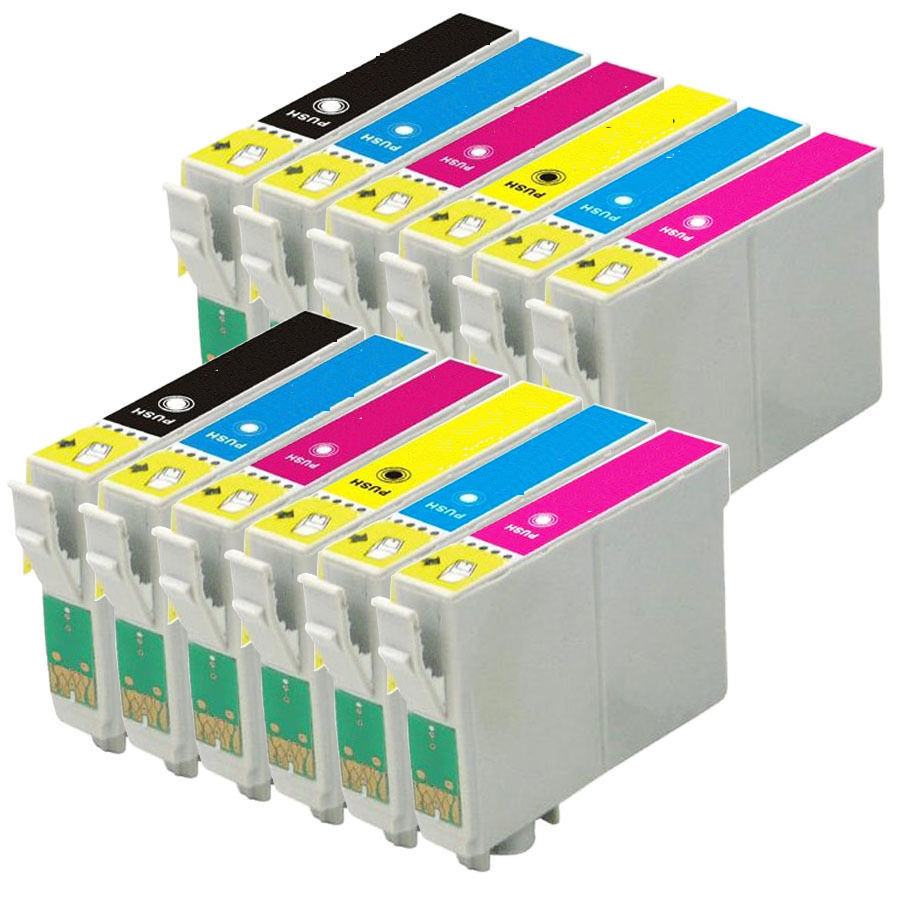 ᗑ12 Compatible T0487 Xl Ink Cartridge For Epson Stylus Photo R200