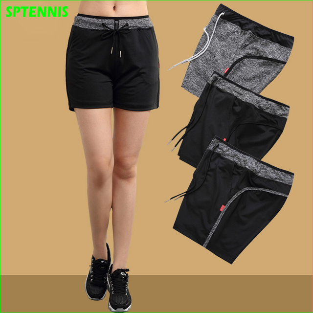 f1973a1efa2d New Women s Tennis Shorts Quick Dry Running Yoga Gym Wear Summer Sports  Shorts for Woman