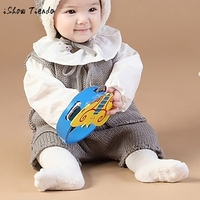 Newborn Infant Baby Toddler Wool Knitted Sleeveless Belt vest Romper top Pants Button Jumpsuit Casual winter suit outfit clothes