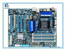 D'origine carte mère Gigabyte GA-X58A-UD3R 1366 broches X58 Bureau cartes mères soutien USB3 SATA3 L5639 L5520