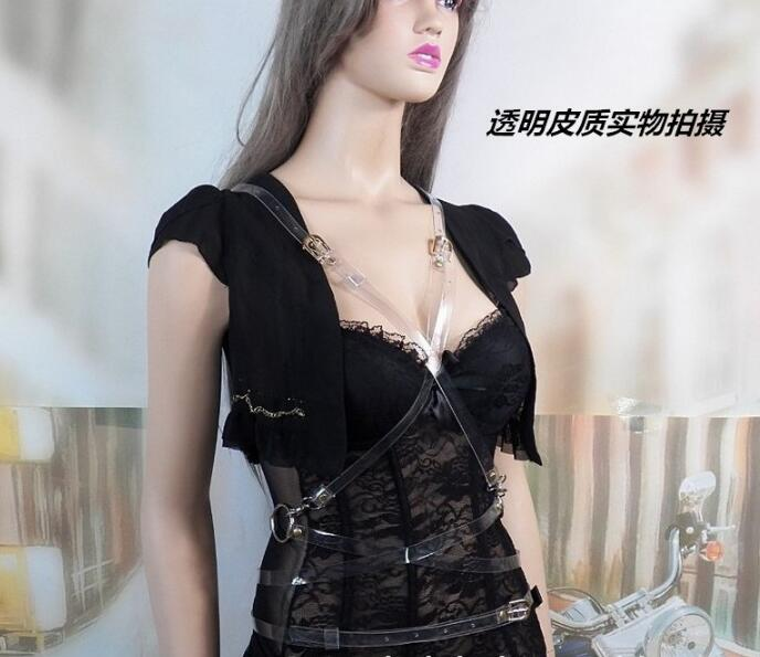 Women Lady Fashion Adjustable Punk Metalic Waistband Waist Belt Buckle in Women 39 s Belts from Apparel Accessories