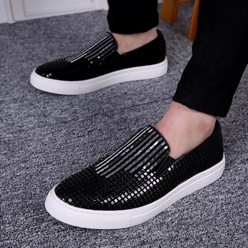 MYCOLEN High Quality Men's Flat Shoes Breathable Black Casual Shoes Men Fashion Minimalist Design Mens Shoes Zapatos Hombres