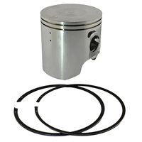 Motorcycle Engine Parts 50 Cylinder Bore Size 66 50mm Pistons Rings Kit For Suzuki Tsr200 Tsr